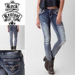 Rock Revival Jeans size 25 skinny.